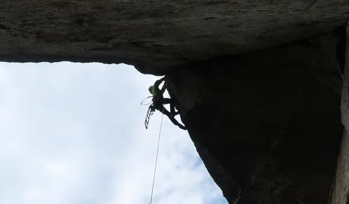Artikelbild zu Artikel Bigwall-Erstbegehung durch Alpinkader NRW