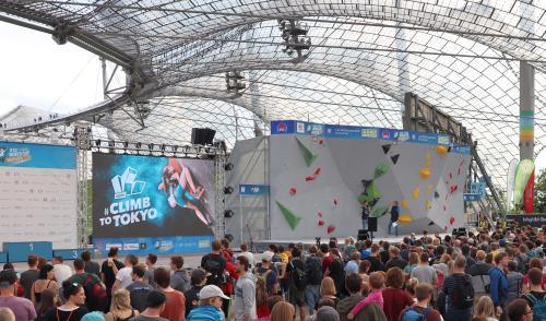 Artikelbild zu Artikel Der Boulder-Weltcup zieht um!