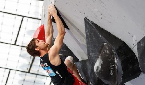 Artikelbild zu Artikel Boulderweltcup München: Jan Hojer holt Bronze!