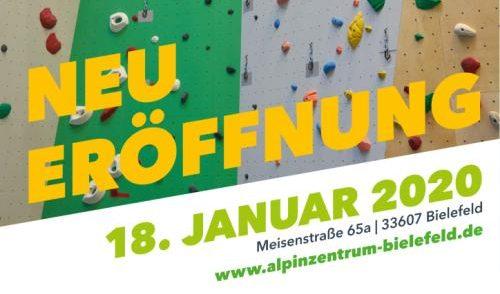 Artikelbild zu Artikel Neueröffnung: alpinzentrum Bielefeld