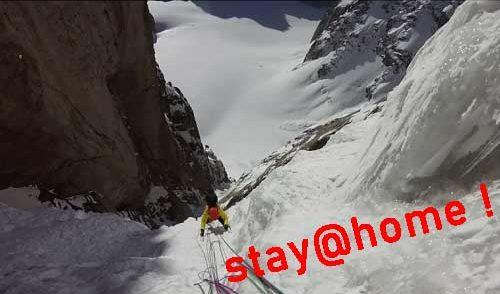 "Artikelbild zu Artikel Ines Papert/Luka Lindič: ""Alpinism on the Edge  of Dreams"" – Livestream-Vortrag"