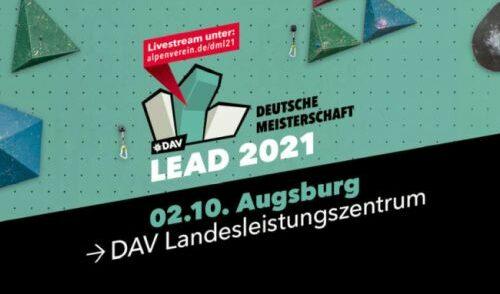 Artikelbild zu Artikel Deutsche Meisterschaft Lead 2021 mit Zuschauern!